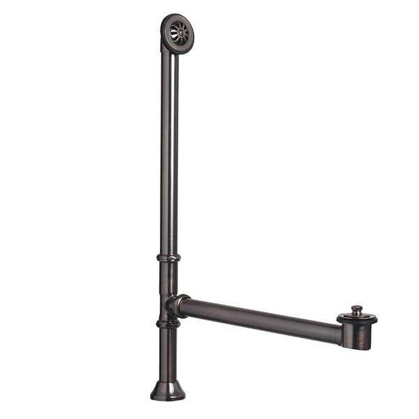 Sinkology Brass Lift and Turn Bathtub Drain and Overflow Kit in Oil-Rubbed Bronze Finish (As Is Item)
