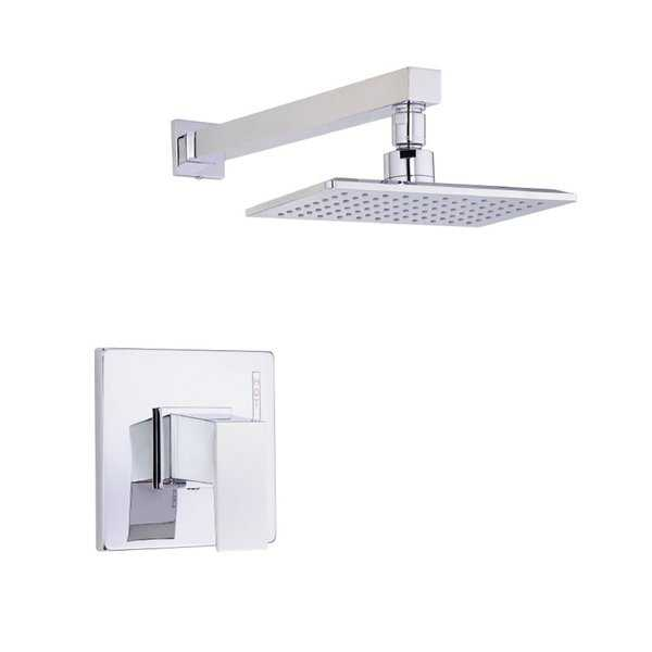 Danze 1H Trim Shower Only Mid-town Lever Handle 2.5 Gpm Polished Chrome Showerhead
