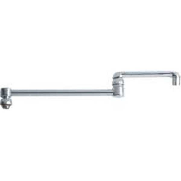 Chicago Faucet Company 157358 Jointed Swing Spout,18 In. ,Lf