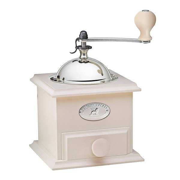 Peugeot 31176 Cottage Coffee Mill, 8-1/4' x 5' x 5', Ivory