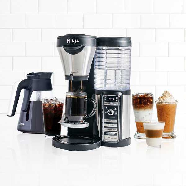 Ninja CF081 Coffee Bar Brewer with Glass Carafe