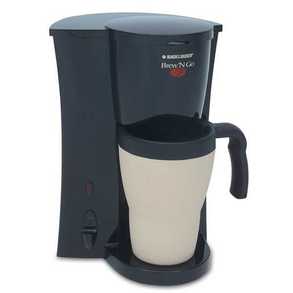 Black & Decker DCM18 Brew 'N Go Coffeemaker