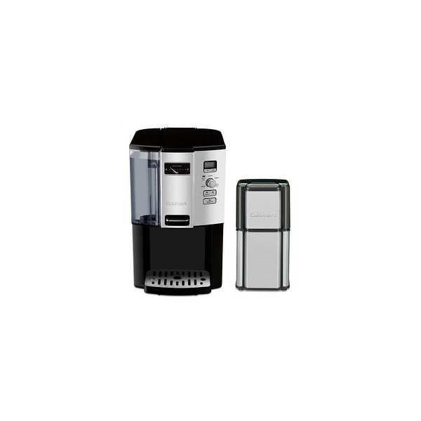 12 Cup Programmable Coffeemaker & Grind Central Coffee Grinder Kit Coffeemaker and Coffee Grinder